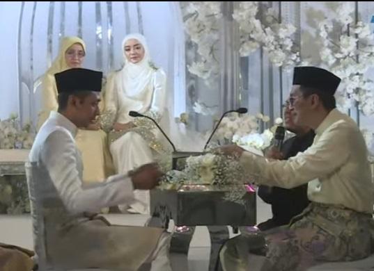 Mira Filzah selamat diijab kabul dengan Wan Emir