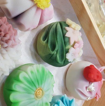 Wagashi terlebih cantik sayang nak makan
