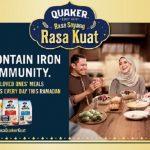 Rasa Sayang, Rasa Kuat di bulan Ramadan dengan Quaker Oats