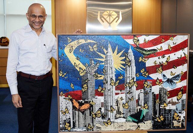 Habib rai kemerdekaan negara dengan metafora Rama-rama