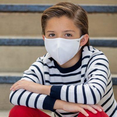 Pelitup muka antimikrob khusus untuk kanak-kanak